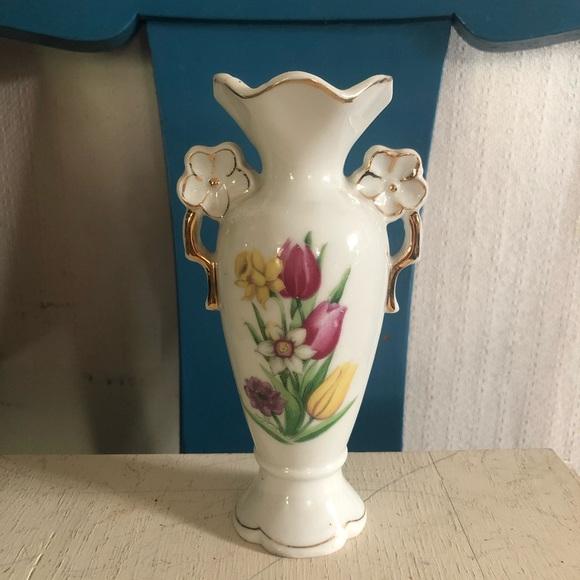 Vintage Ceramic Vase Made in Japan